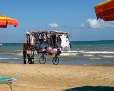 Beach Vendor Stock Images
