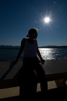 Free Woman In The Sun Stock Photos - 5927933