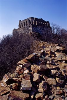 Free The Great Wall Royalty Free Stock Photography - 5927947