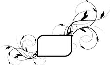 Free Abstract Floral Frame Royalty Free Stock Photos - 5928648