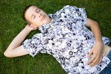 Free Relaxing Teen Stock Photos - 5928753