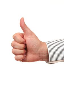 Free Thumb Up Gesture OK Royalty Free Stock Photos - 5929308