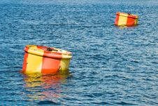 Free Two Buoys Stock Photo - 5929530