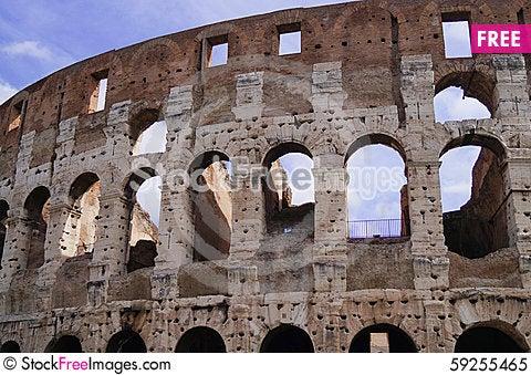 Free Coliseum Rome Italy Royalty Free Stock Photo - 59255465