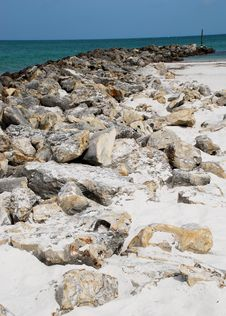Free The Beach Rocks Stock Images - 5930154