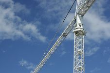 Free Lifting Crane Stock Photography - 5930442