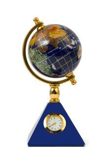 Free Globe With Clock Stock Photos - 5930593