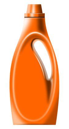 Free Laundry Detergent Bottle Stock Image - 5930661