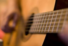 Free Solo On Guitar Stock Photography - 5930882