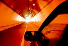 Free Light At The End Of The Tunnel Royalty Free Stock Photo - 5931225
