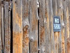 Free No Parking Stock Photo - 5932410