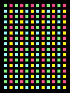 Free Colored Boxes On Black Royalty Free Stock Image - 5933266