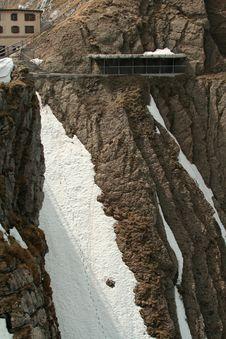 Free Brave Mountain Climb Stock Image - 5933521