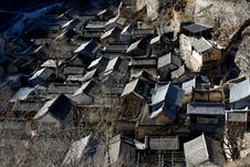 Free Village House Of North China Royalty Free Stock Photography - 5933897