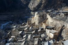 Free Village House Of North China Stock Images - 5933944