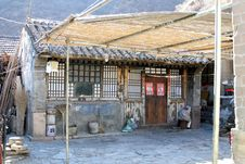 Free Village House Of North China Stock Images - 5933964