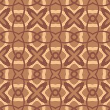 Free Chocolate Flowers Pattern Stock Image - 5934391