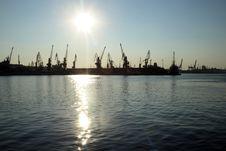 Free Port Cranes Stock Photos - 5934953