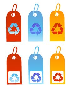 Free Recycle Signs Vector Illustrat Royalty Free Stock Images - 5934979