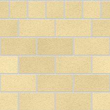 Free Cream Seamless Bricks Stock Photo - 5935060