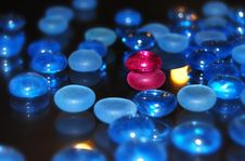 Marbles Bi Royalty Free Stock Image
