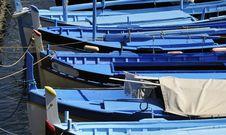 Mediterranean Fishing Boats Stock Image
