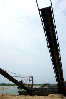Conveyer Belt Stock Image