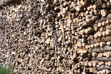 Free Stack Of Wood Royalty Free Stock Image - 5937386