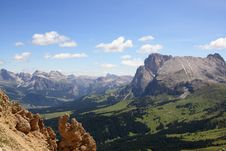 Free Mountain Panorama Royalty Free Stock Photo - 5937405