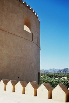 Free Fort In Oman Royalty Free Stock Photography - 5937867