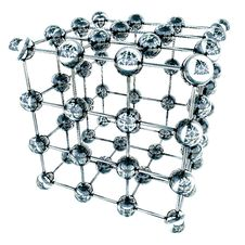 Free 3d Model Of An Molecule Royalty Free Stock Photo - 5938205