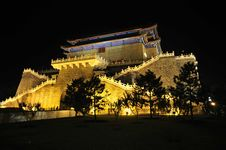 Free Chinese Ancient Castle Stock Photography - 5938722