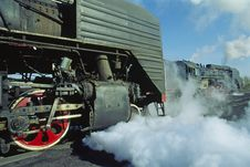 Free Steam Train Royalty Free Stock Photos - 5939278