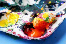 Free Paint Palette Stock Images - 5939494