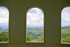 Free View Through The Arcs Stock Image - 5939501