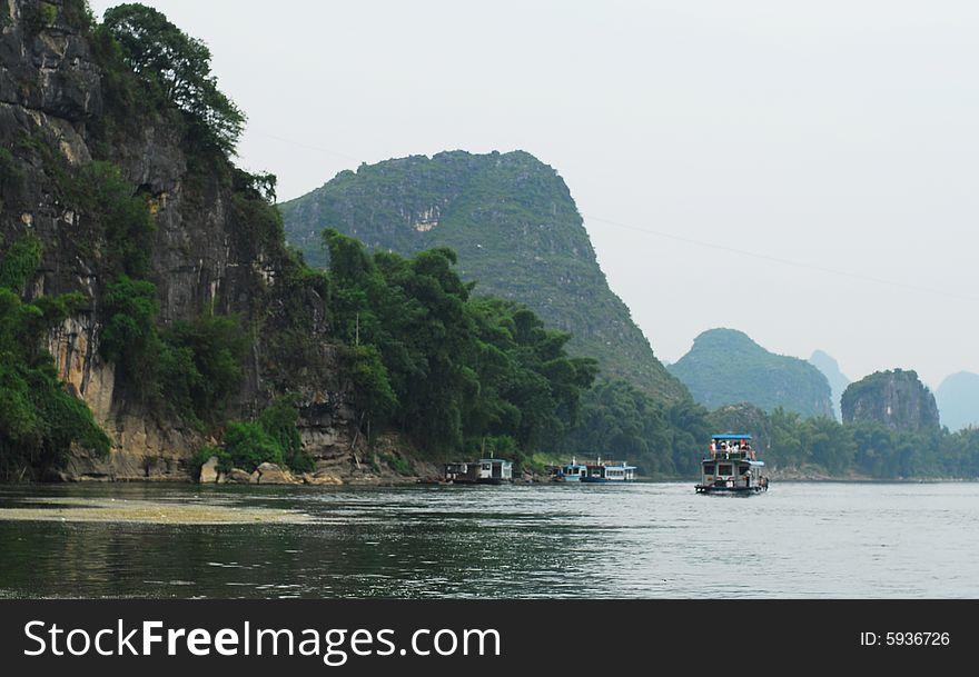 Still life on Lijiang River