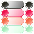 Free Set Of Beautiful Round Buttons Stock Photography - 5945792
