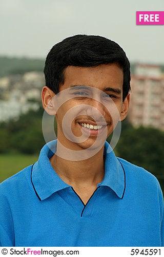 Free Simple Smile Stock Image - 5945591