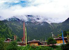 Free Tibetan Village Royalty Free Stock Image - 5940016