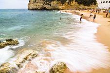 Free Carvoeiro Beach Stock Photography - 5940672