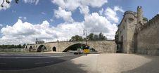 Free Panorama Of Famous Avignon S Bridge Royalty Free Stock Photo - 5940955