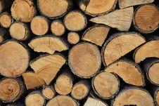 Free Pile Of Logs Stock Photos - 5941073