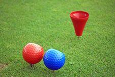 Free Golf Tee Stock Photography - 5941202