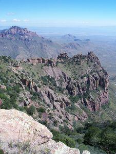 Free Desert Mountain Vista Royalty Free Stock Photography - 5942177