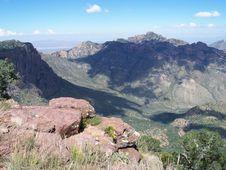 Free Desert Mountain Vista Stock Image - 5942731