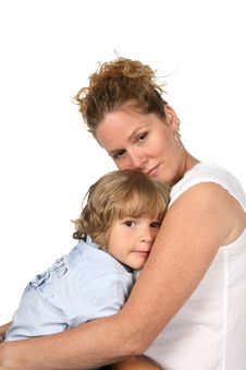 Free Mother And Son Together Royalty Free Stock Image - 5943576
