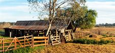 The Hay Shed Royalty Free Stock Photo