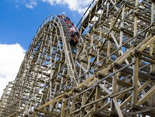 Free Roller Coaster Royalty Free Stock Images - 5943659
