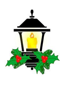 Free Christmas Lantern Stock Image - 5943821