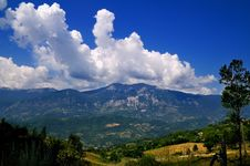 Abruzzo Landscape Royalty Free Stock Images